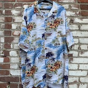 Vintage The Hawaiian Original Aloha Button Down
